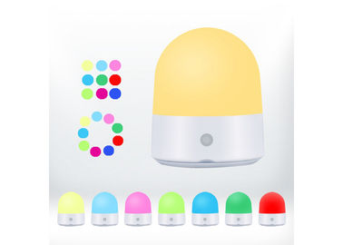 Chiny Baby Room LED Night Light DC5V Rechargable Touch Control Ciepły biały kolor RGB dostawca