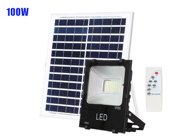 CRI70 Solar Powered Lights / SMD Remote Control 100W Solar Flood Lights